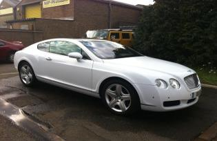 bentley limo corby