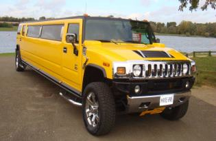 yellow hummer hire corby